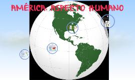 AMÉRICA: ASPECTO HUMANO