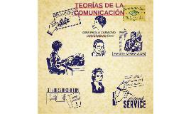 TEORÍAS DE LA COMUICACIÓN