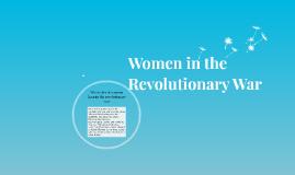Women in the Revolutionary War