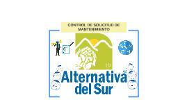 CONTROL DE SOLICITUD DE MANTENIMIENTO