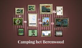Camping het Berenwoud