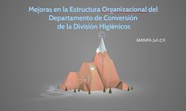 Mejora en la Estructura Organizacional de Conversión