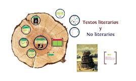 Copy of Texto literario y no literario