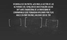 DESARROLLO DE UN PORTAL WEB PARA LA GESTIÓN DE LAS ACTIVIDAD