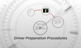 Driver Preparation Procedures