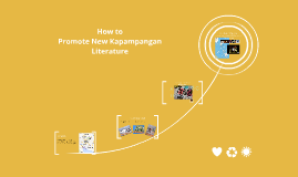 How to Promote New Pampango Literature