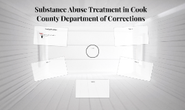 Substance Abuse Treatment in Cook County Department of Corre
