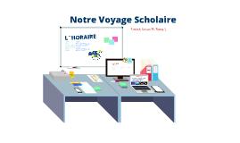 FSF 3U | Voyage scholaire
