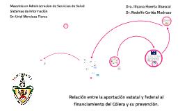 Relación entre la aportación estatal y federal al financiami