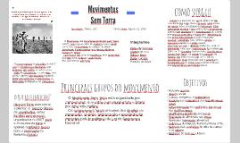 O Movimento dos trabalhadores Rurais Sem-Terra do Brasil (MS