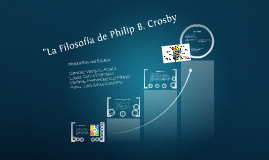 "Copy of ""La Filosofía de Philip B. Crosby"