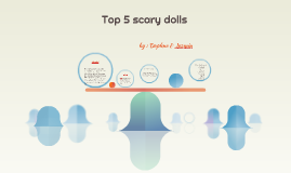 Top 5 scary dolls