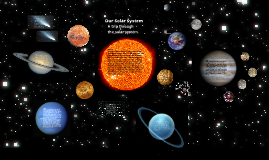 a trip through are solar system by,Brock Hosier