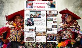 Carnival of Cusco