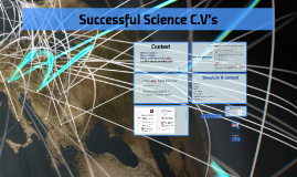 Successful Science C.V's 2019