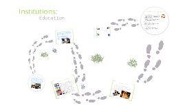 institutions in education sam & v
