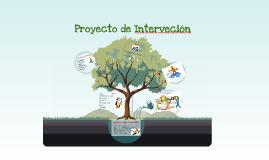 Proyecto de Interveción