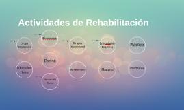 Actividades de Rehabilitación
