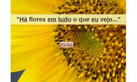 """""""Há flores em tudo o que eu vejo..."""""""
