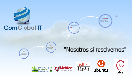 ComGlobal IT, servicios - diagramas