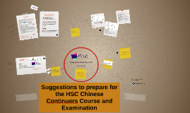 Suggestions to Prepare for the HSC Chinese Continuers Course and Examination