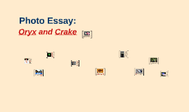oryx and crake media portfolio by luke hagar on prezi photo essay oryx and crake