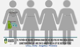 EL PATRÓN DE MACROCRIMINALIDAD EN LOS DELITOS DE VIOLENCIA S