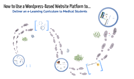 Delivering an e-Learning Curriculum Using Wordpress