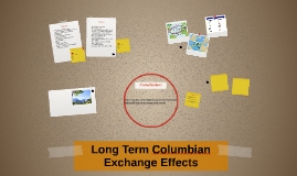 Long Term Columbian Exchange Effects