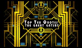 Top Ten Quotes