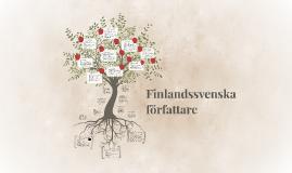 Finlandssvenska författare