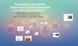 Copy of Pedagogisia periaatteita takomassa!