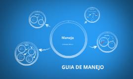 GUIA DE MANEJO