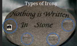 Copy of Types of Irony