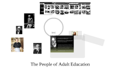 The People of Adult Education