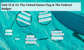 Unit 22 & 23: United States Flag & Federal Budget
