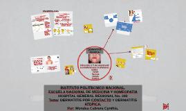 dermatitis por contacto y dermatitis atopica