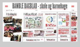 Utviklingsarbeid skole og barnehage Bamble kommune