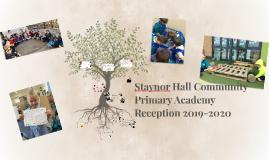 Copy of EYFS of Staynor Hall Community Primary School