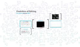 Evolution of Editing