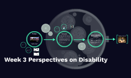 Week 3: Perspectives on Disability