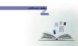 ...California v. Bakke