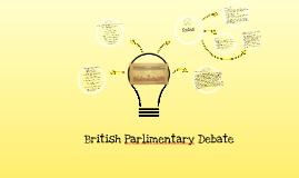 British Parlimentary Debate