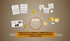 """""""SERVICIOS DEL TERMINAL TERRESTRE DE LA CIUDAD DEL CUSCO Y L"""