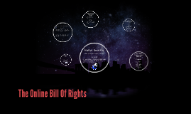 The Online Bill Of Rights