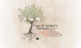 Copy of Tone & Author's Purpose