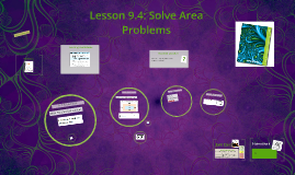 Lesson 9.4: Solve Area Problems