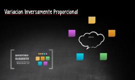 variacion inversamente proporcional