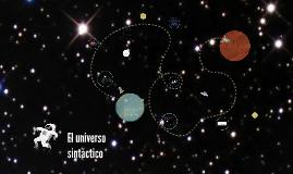 El universo sintáctico