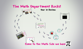 The Math Department Rocks!